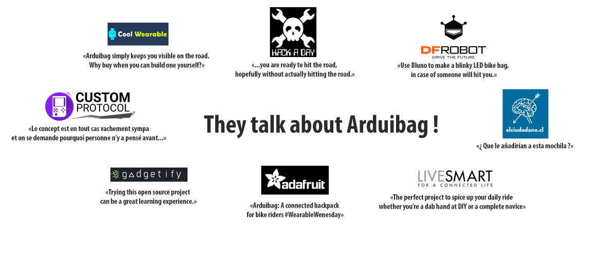They talk about Arduibag